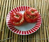 Заполненный томат Ближний Востока Стоковые Изображения