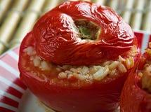 Заполненный томат Ближний Востока Стоковое Изображение