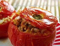Заполненный томат Ближний Востока Стоковое фото RF