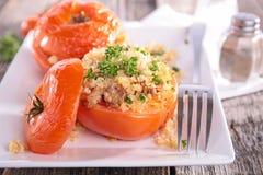 заполненный томат Стоковое фото RF