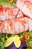 заполненный цыпленок груди Стоковая Фотография RF