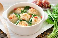 Заполненный шарик тофу Стоковое Изображение