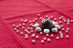 заполненный шоколад Стоковые Фото