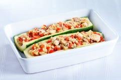 заполненный zucchini Стоковая Фотография RF