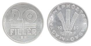 Заполнитель венгра монетки Стоковая Фотография RF