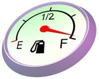 заправьте топливом полный датчик Стоковые Изображения RF