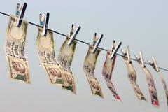 Запретите на Rs 500, Rs 1000 примечаний хирургическая забастовка на финансировании террора, черные деньги Стоковые Изображения