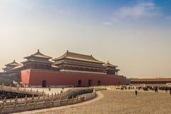 Запретный город - Китай Стоковое Изображение