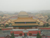 Запретный город Китая Стоковая Фотография