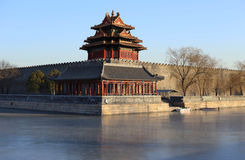 Запретный город, Пекин, Китай Стоковая Фотография RF