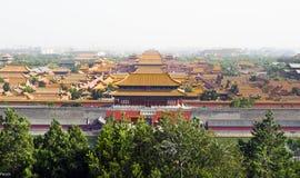 Запретный город, Bejing, Китай Стоковая Фотография RF