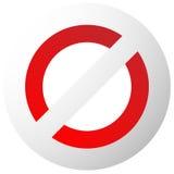 Запрет, знак ограничения Красный цвет никакой вход, не вписывает знаки иллюстрация штока