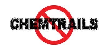 Запрет Chemtrails Стоковое Изображение