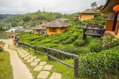 Запрет Rak тайское, китайское поселение Стоковое фото RF