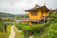 Запрет Rak тайское, китайское поселение Стоковое Изображение RF