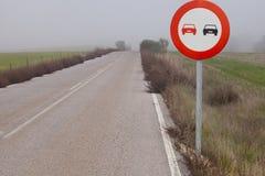 Запрещать сигнала настигает Стоковые Изображения RF
