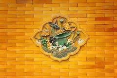 запрещенная деталь города Пекин Стоковое Изображение