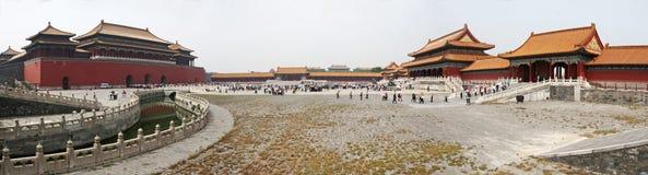 запрещенная известная города фарфора Пекин Стоковое Изображение