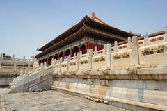запрещенная известная города фарфора Пекин Стоковое Изображение RF
