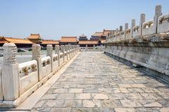 запрещенная известная города фарфора Пекин Стоковые Изображения