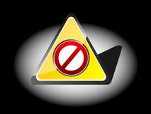 запрещенная икона Стоковое Фото