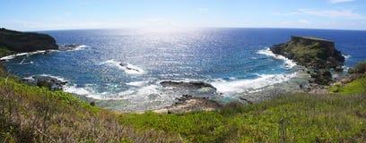 Запрещенная панорама острова Стоковые Изображения