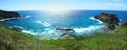 Запрещенная панорама острова Стоковое фото RF
