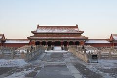 запрещенное городом zijincheng gugong Стоковые Изображения