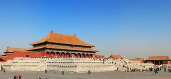 запрещенный городом дворец музея стоковая фотография
