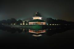 запрещенный городом имперский дворец ночи Стоковое Изображение