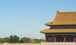 Запрещенный город в Пекин Стоковое Фото