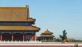Запрещенный город в Пекин Стоковое фото RF