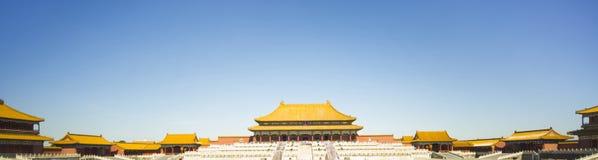 Запрещенный город в Пекин Стоковая Фотография RF
