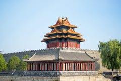 Запрещенный город в Пекин Стоковые Изображения RF