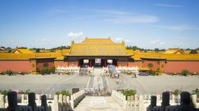 Запрещенный город в Пекин Стоковое Изображение