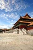 Запрещенный город Пекин Китай стоковые фото