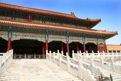запрещенный город фарфора Пекин стоковые фотографии rf