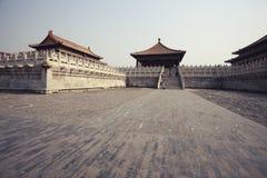 запрещенный город фарфора Пекин Стоковые Фото