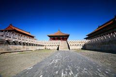 запрещенный город фарфора Пекин Стоковая Фотография