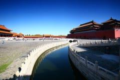 запрещенный город фарфора Пекин Стоковые Изображения