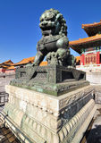 Запрещенный город, Пекин, Китай Стоковая Фотография RF