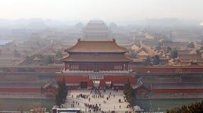 запрещенный город Пекин Стоковая Фотография