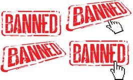 запрещено Стоковое фото RF