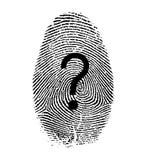 Запрос ID иллюстрация вектора