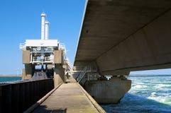 запруда моста внутрь Стоковое Изображение RF