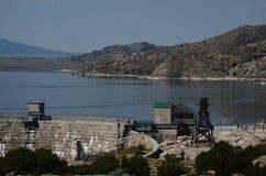 Запруда озеро гора Стоковое Изображение RF