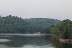 Запруда Gangkajan стоковые фото