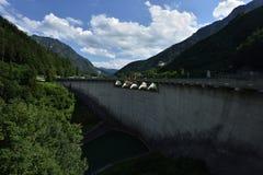 Запруда Klaus, Oberosterreich, Австрия стоковые фото