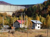 Запруда Paltinu, Румыния Стоковое Фото