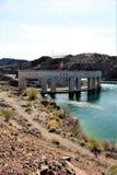 Запруда Parker, Parker, Аризона, La Paz County, Соединенные Штаты Стоковое Изображение